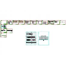 Connect ECL Щит автоматики, 25А, 380В, ПО системы АИИС «Comfort Contour»