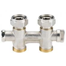 Клапан запорный RLV-KD 1/2''x3/4'' прям.