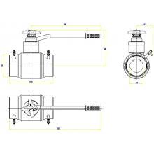 Клапан запорно-регулирующий JIP BaBv - WW Ду150 Ру25