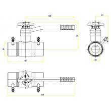 Клапан запорно-регулирующий JIP BaBv - WW Ду100 Ру25