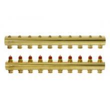 FHF-10 - распределительный коллектор для системы водяного отопления конфигурации ''10+10''