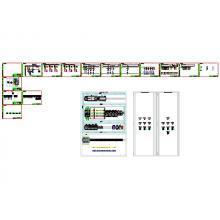 Connect ECL Щит автоматики, 50А, 380В, ПО системы АИИС «Comfort Contour»