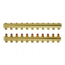 FHF-11 - распределительный коллектор для системы водяного отопления конфигурации ''11+11''